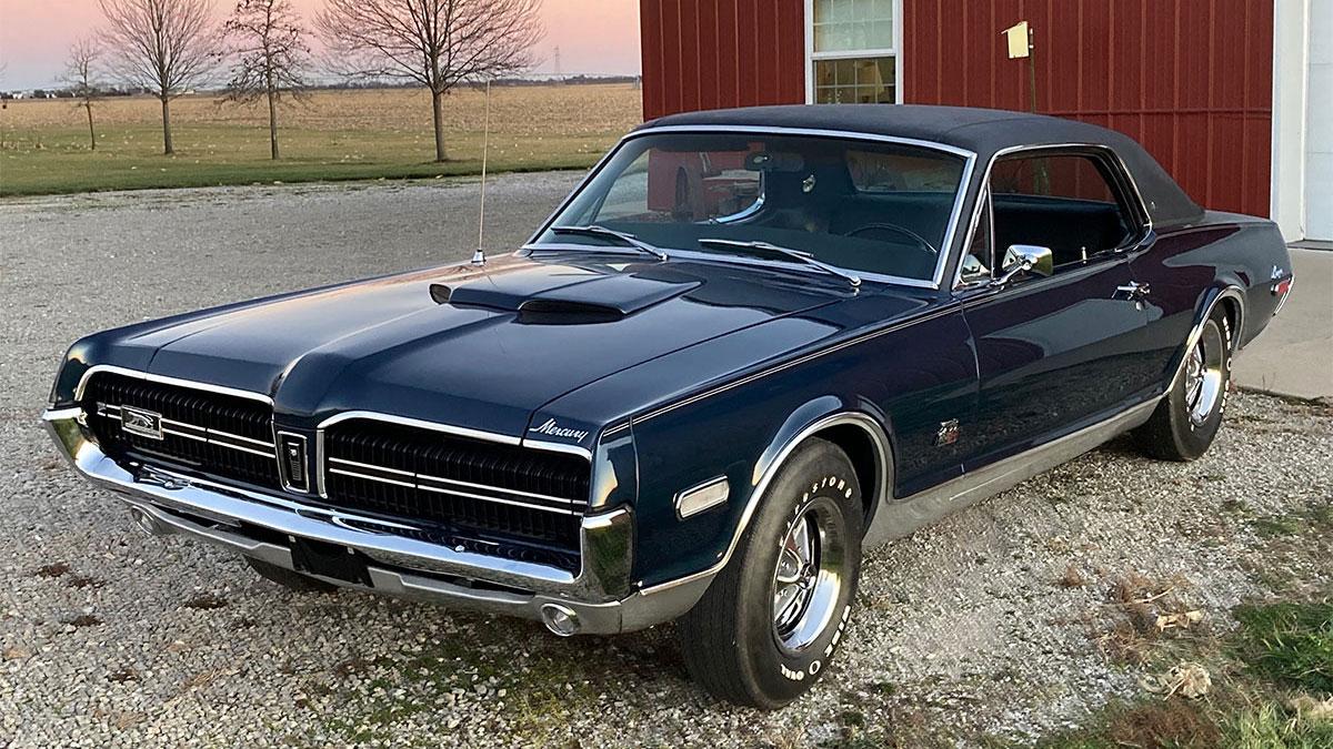 1968 Cougar GT-E
