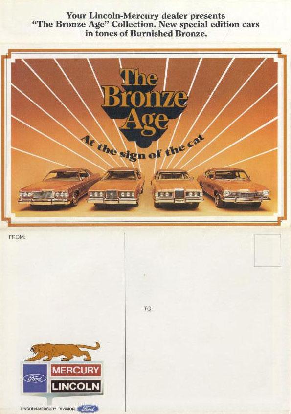 1973 Mercury Bronze Age Mailer