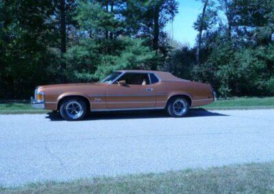 1973 Mercury Cougar Bronze Age