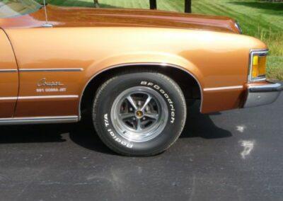 1973 Mercury Cougar Bronze Age Wheel