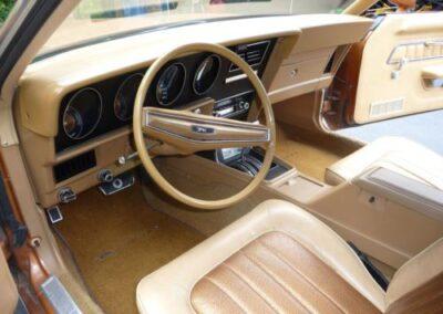1973 Mercury Cougar Bronze Age Interior
