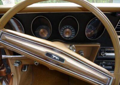 1973 Mercury Cougar Bronze Age Steering Wheel