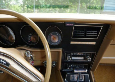 1973 Mercury Cougar Bronze Age Dashboard