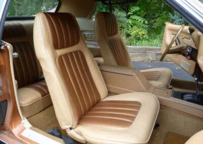 1973 Mercury Cougar Bronze Age Front Seats