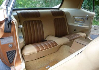 1973 Mercury Cougar Bronze Age Rear Seats