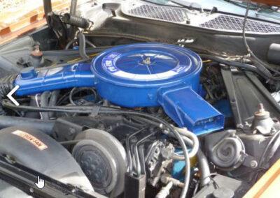 1973 Mercury Cougar Bronze Age Engine