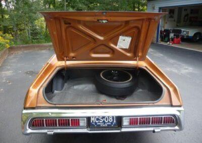 1973 Mercury Cougar Bronze Age Trunk