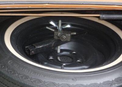 1973 Mercury Cougar Bronze Age Spare Tire