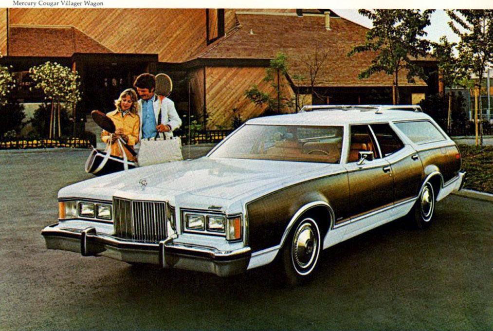 1977 Cougar Villager Ad