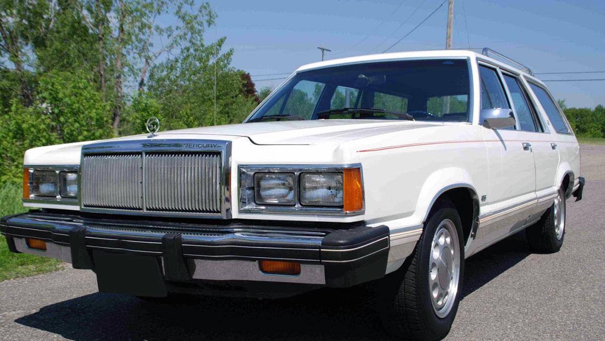 1982 Mercury Cougar GT Station Wagon