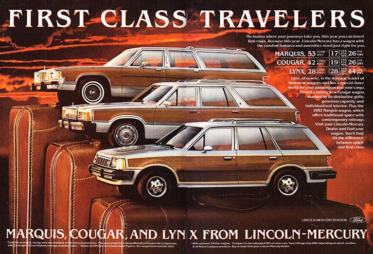 982 Mercury Station Wagon Ad