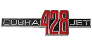 428 Cobra Jet Registry logo