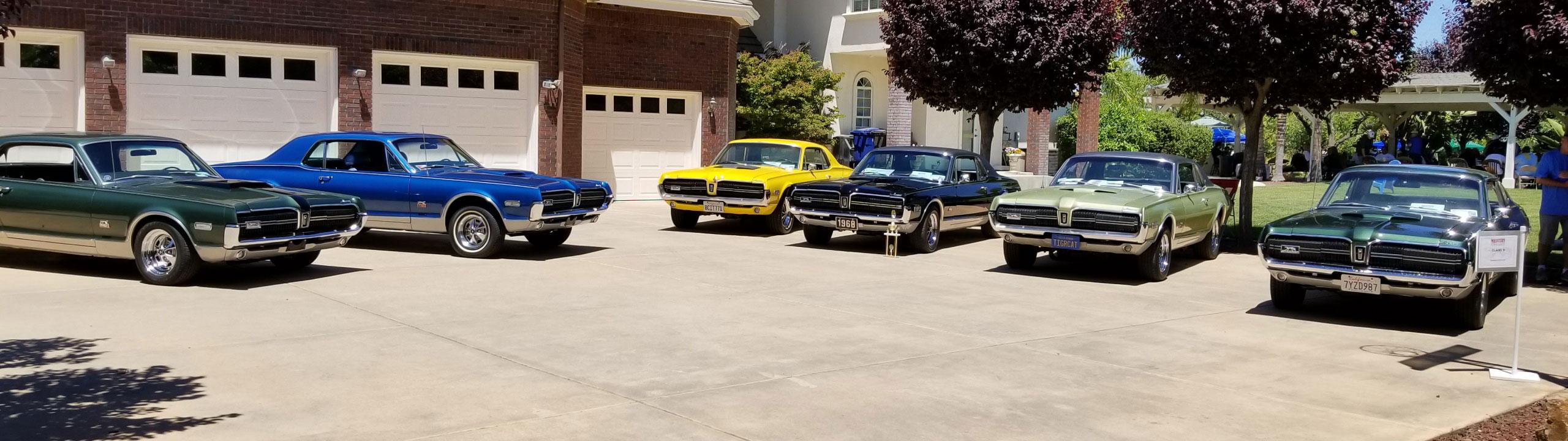 6 1968 GT-E's