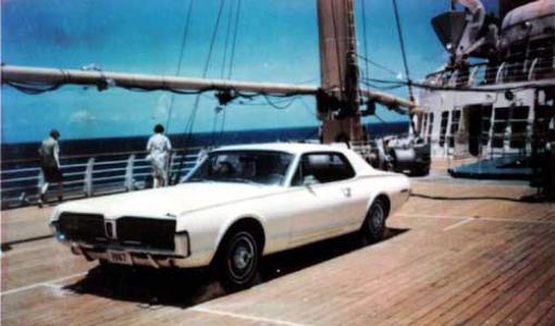 Cougar on Ship