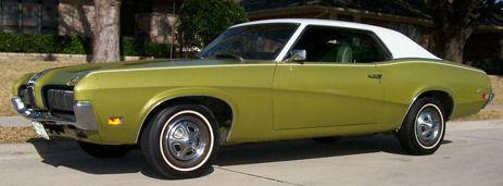 1970 Two-Tone Mercury Cougar
