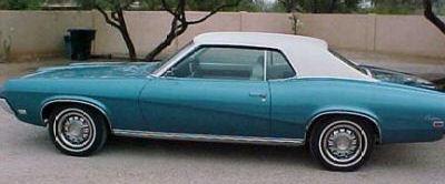 1969 Two-Tone Mercury Cougar