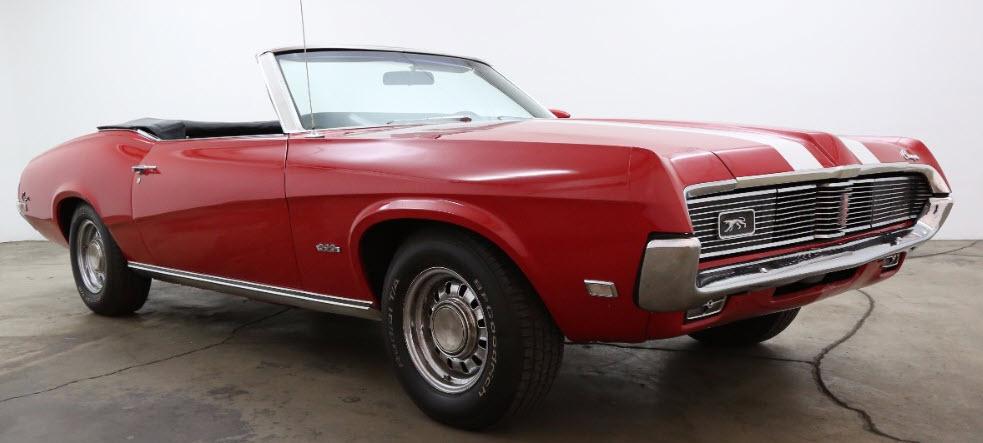 1969 390 S-Code Mercury Cougar