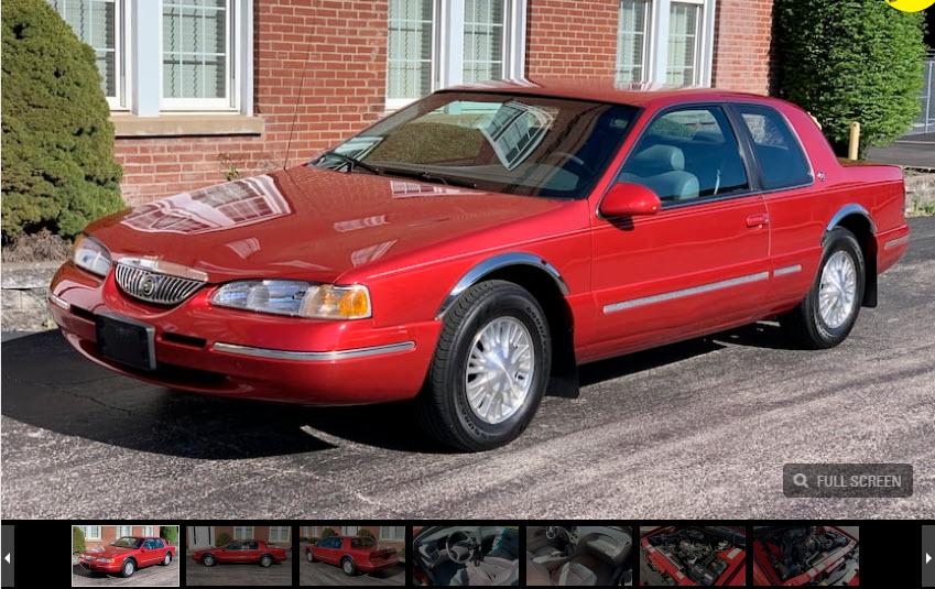 1996 Mercury Cougar XR-7
