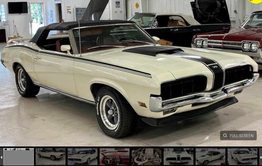 1970 Mercury Cougar Convertible
