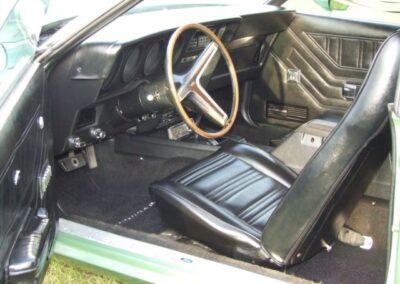1971 Mercury Cougar 429 Cobra Jet Interior