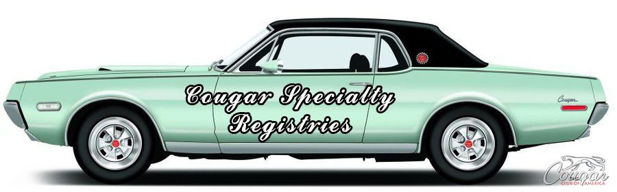 Cougar Specialty Registries