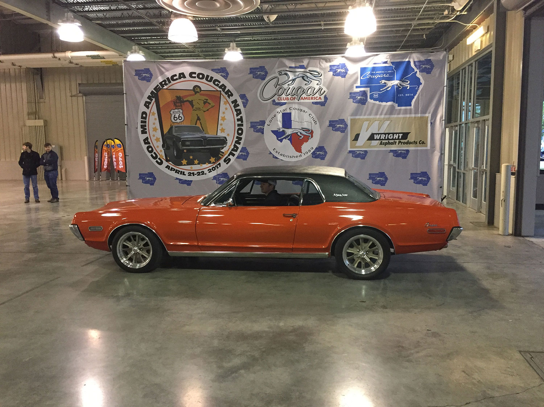 1968 Mercury Cougar Calypso Coupe