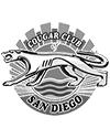 Cougar Club of San Diego logo B&W