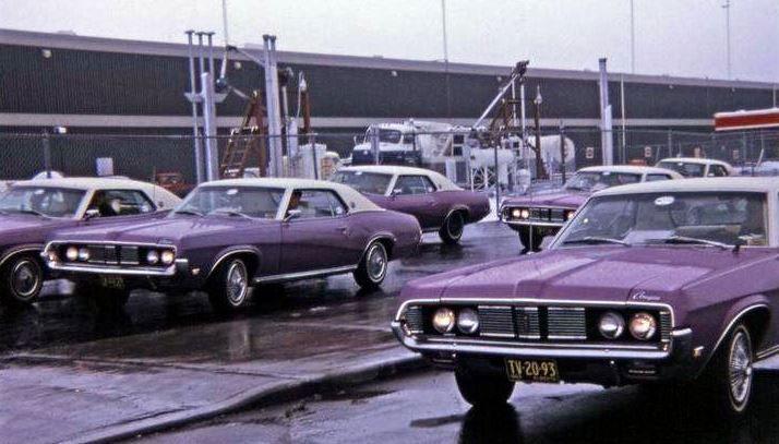 1969 RML Mercury Cougars
