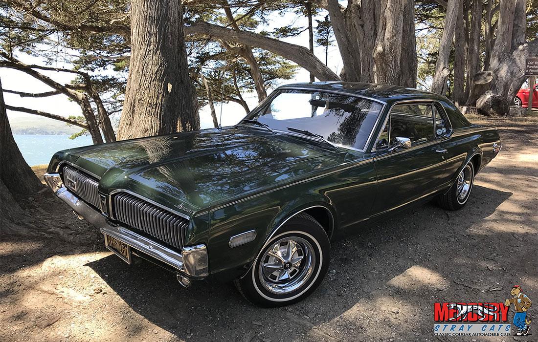 #00054 Dennis Pierachini 1968 Mercury Cougar