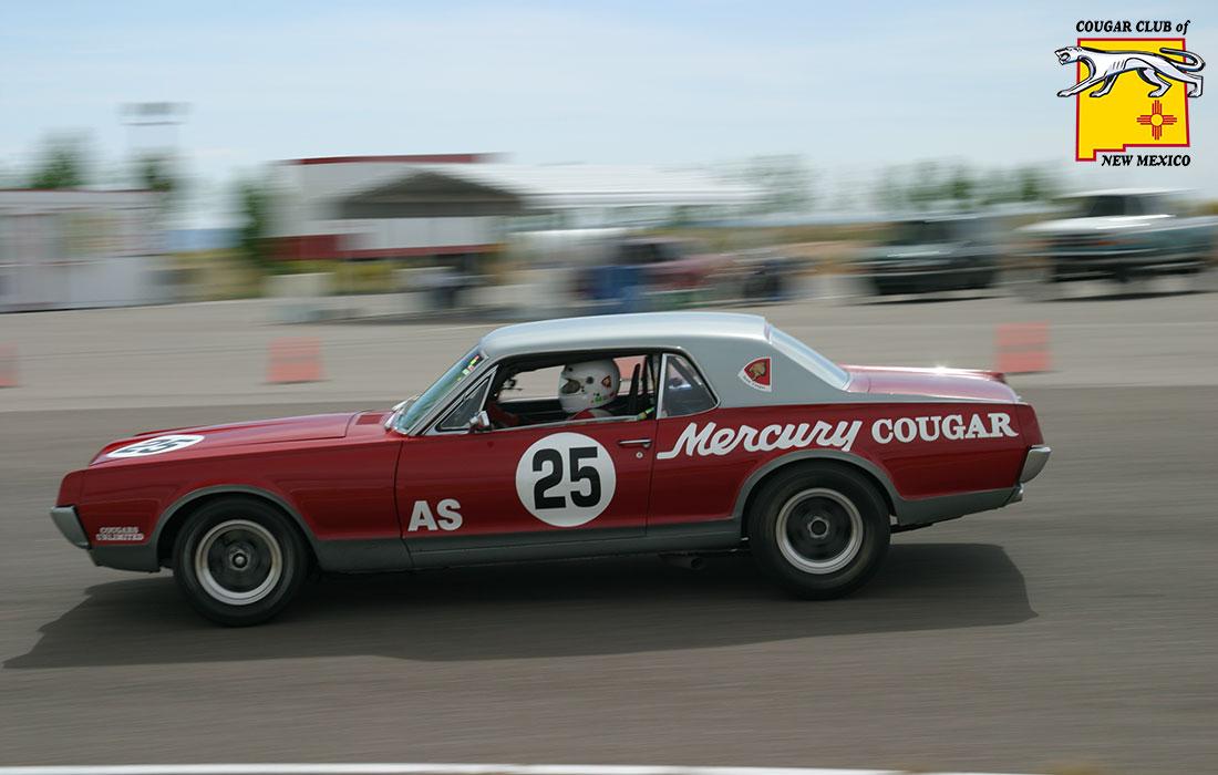 #00055 Vic Yarberry 1967 Mercury Cougar