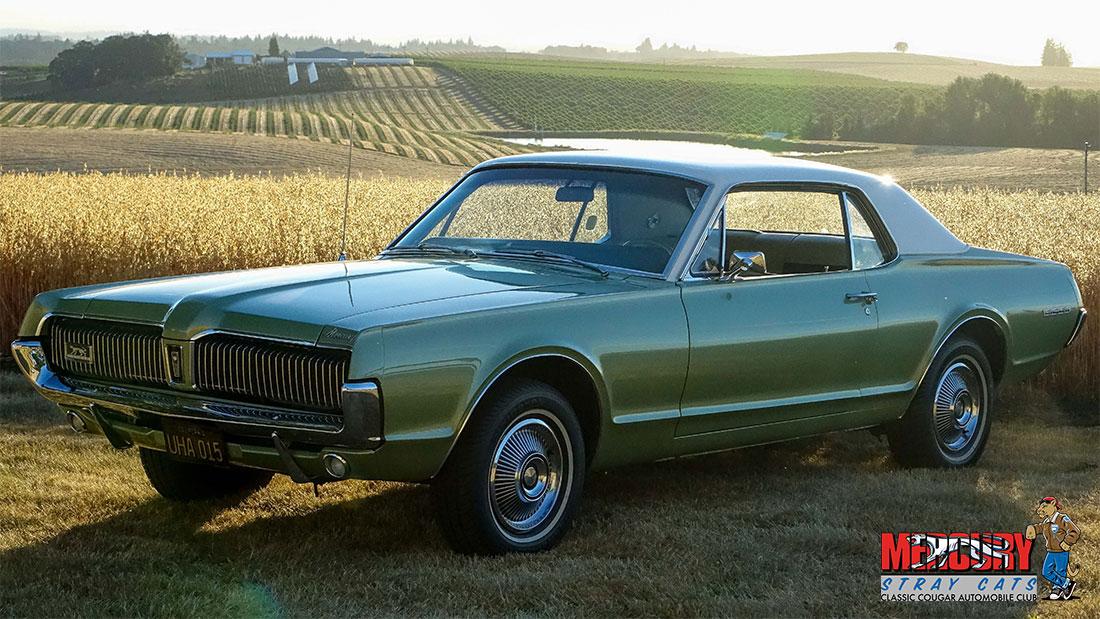 #06697 Chet Moore 1967 Mercury Cougar Two-Tone