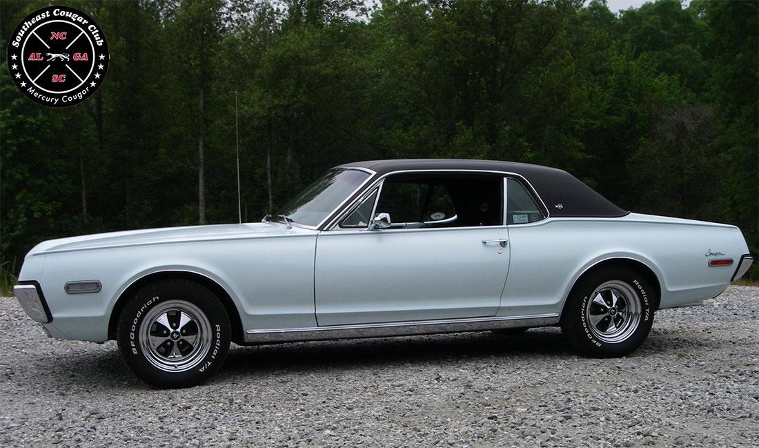 #8989 David Penney 1968 Mercury Cougar XR-7