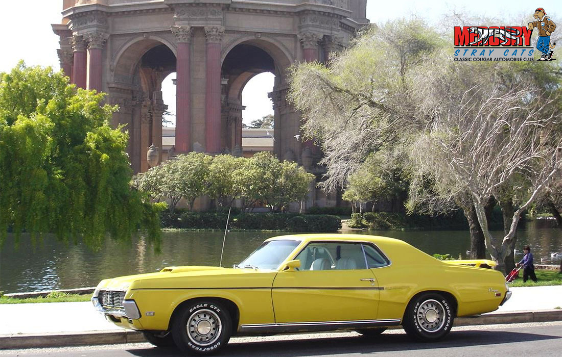 #09360 Dee & Tony Sheakley 1969 Mercury Cougar Eliminator 390