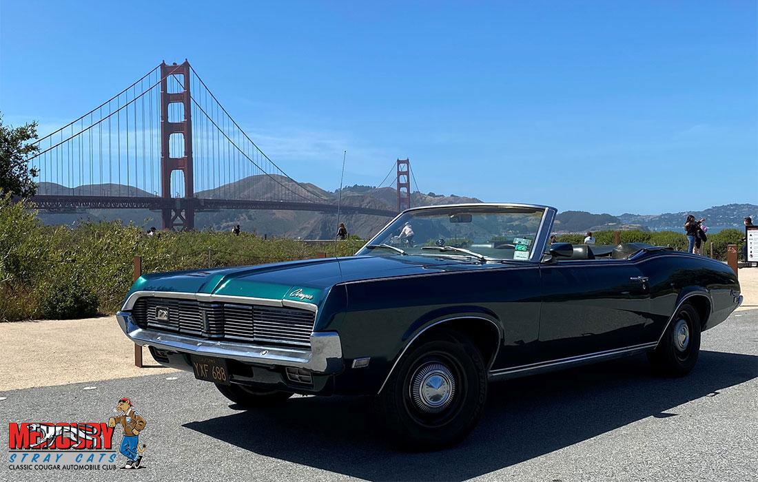 #09360 Dee & Tony Sheakley 1969 Mercury Cougar XR-7 Convertible