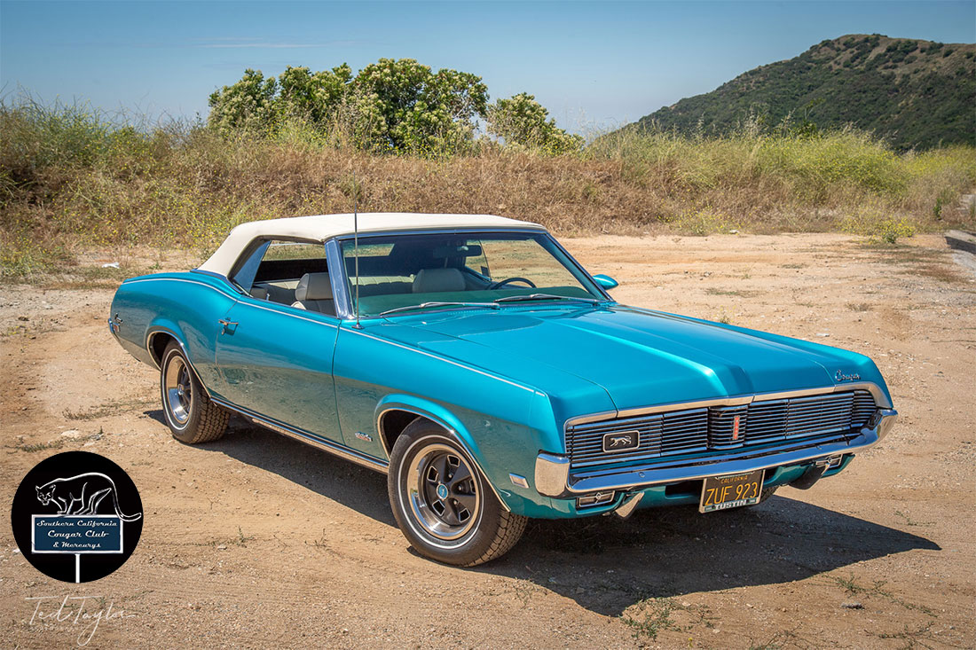 #09385 Ted Taylor 1969 Mercury Cougar XR-7 Convertible S-Code