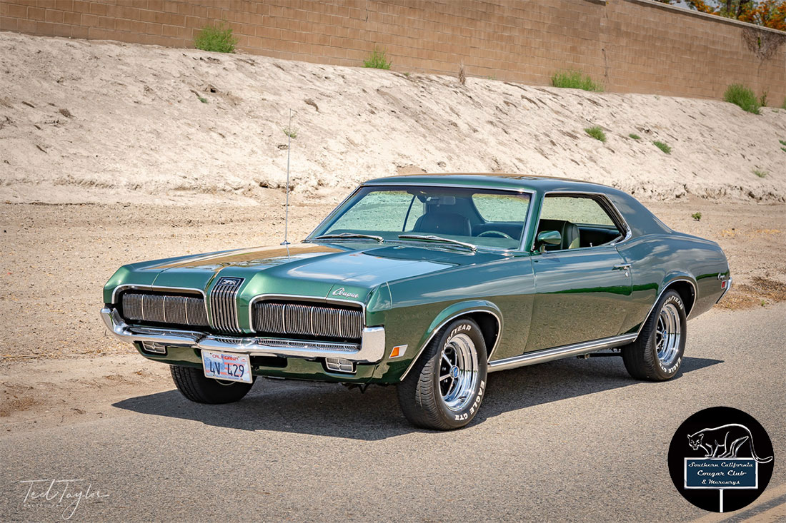 #09385 Ted Taylor 1979 Mercury Cougar 429 5-Speed