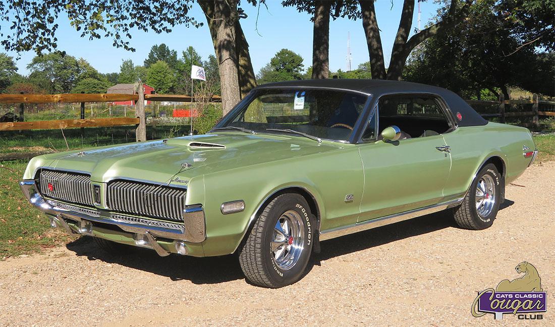 #9407 Jim Wojcik 1968 Mercury Cougar XR7-G