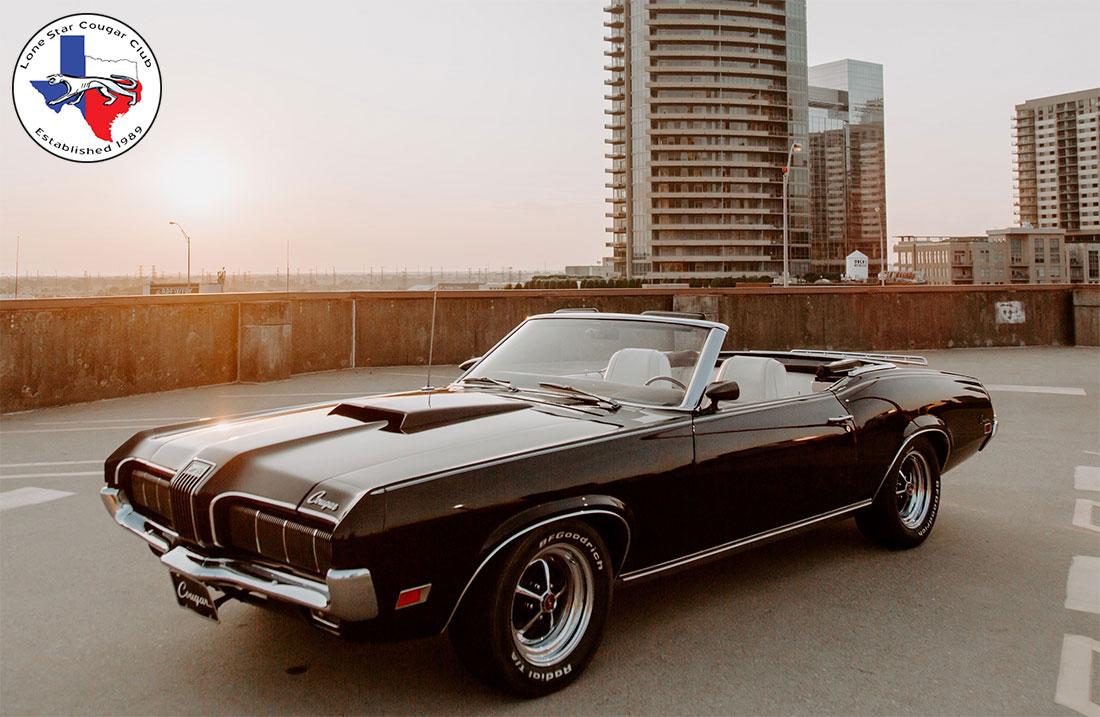#09496 Todd Richmond 1970 Mercury Cougar Convertible
