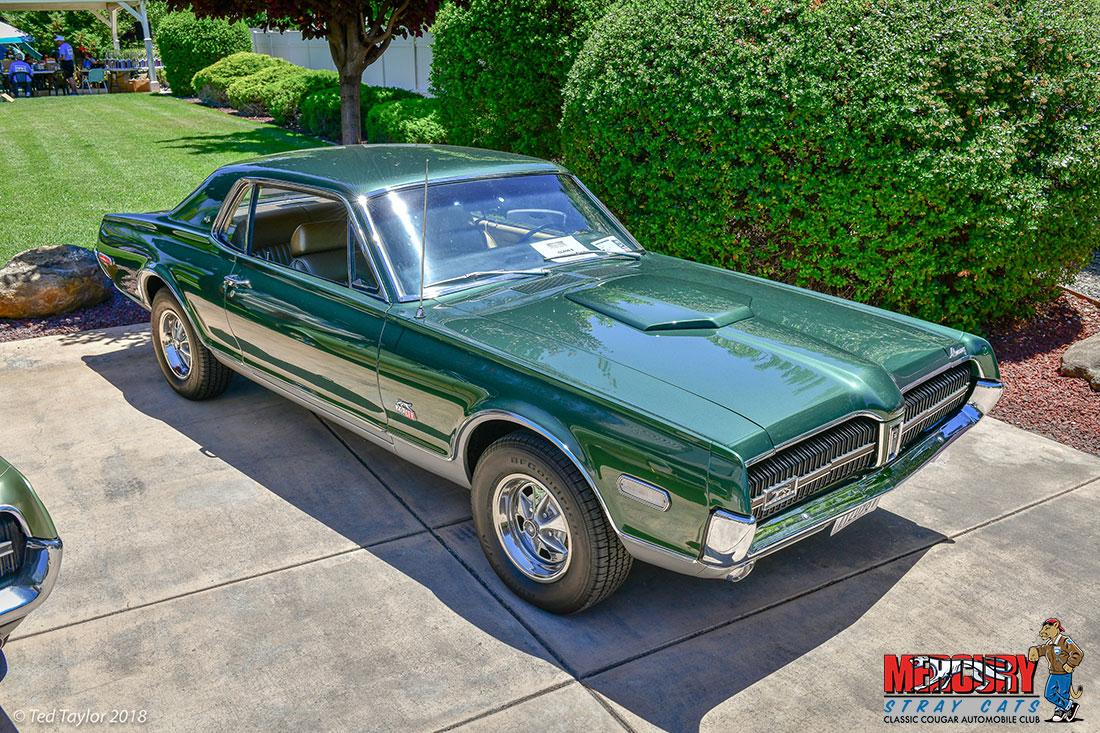 #09760 Paul Taccone 1968 Mercury Cougar GT-E