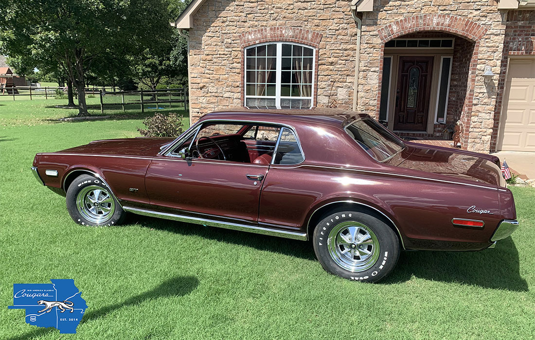 #09860 Floyd Brown 1968 Mercury Cougar GT