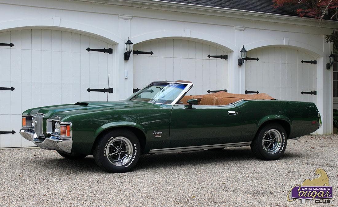#10010 Tod Miller 1971 Mercury Cougar XR-7 Convertible