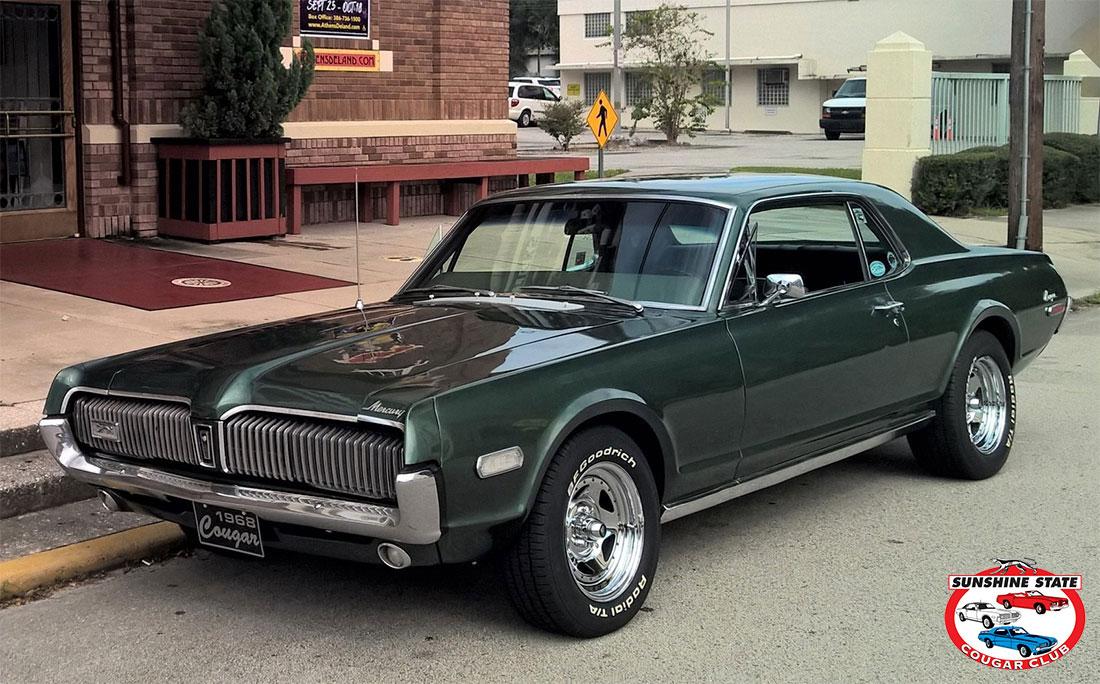 #10018 Keith Hyatt 1968 Mercury Cougar XR-7
