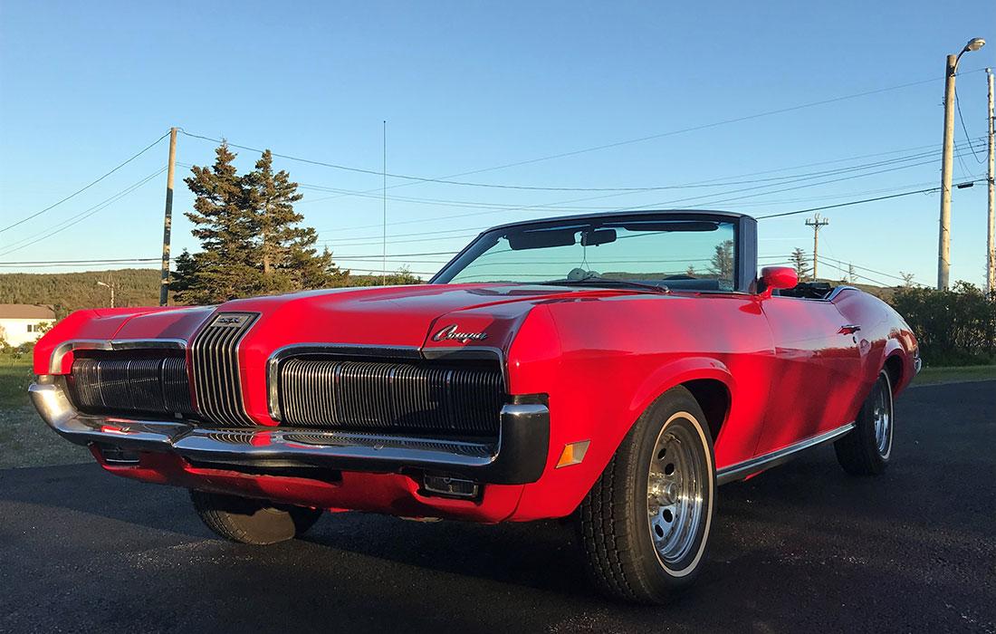 #10046 Tyler White 1970 Mercury Cougar XR-7 Convertible