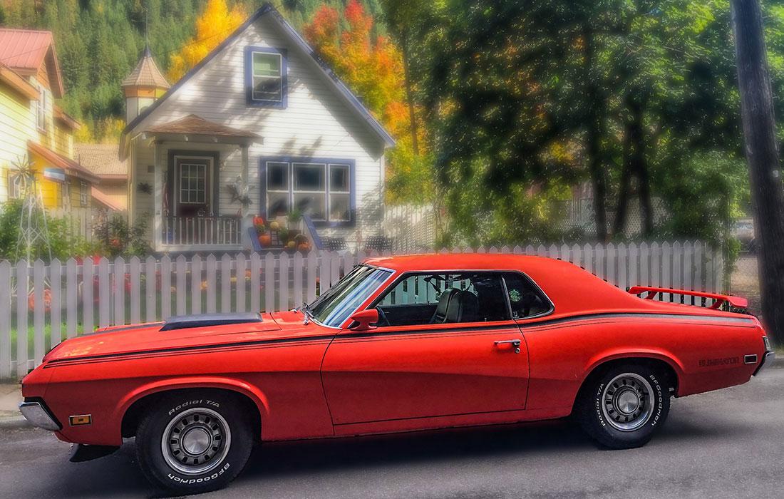 #10100 Lizzie Keitel 1970 Mercury Cougar Eliminator
