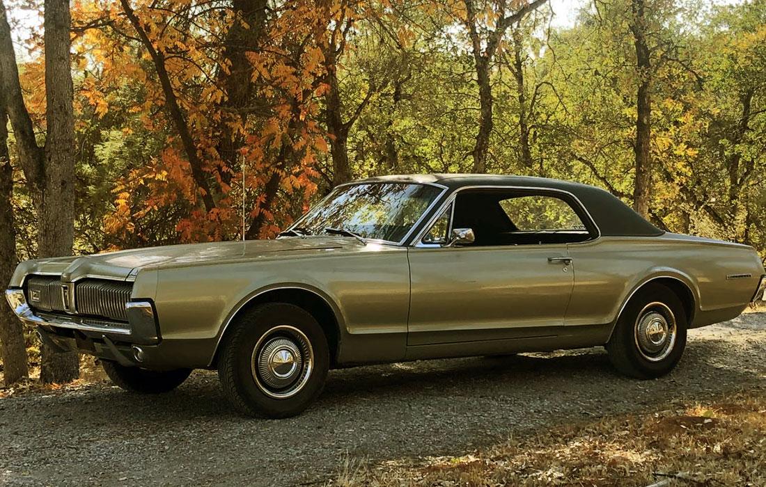 #10167 Galen Schmidt 1967 Mercury Cougar