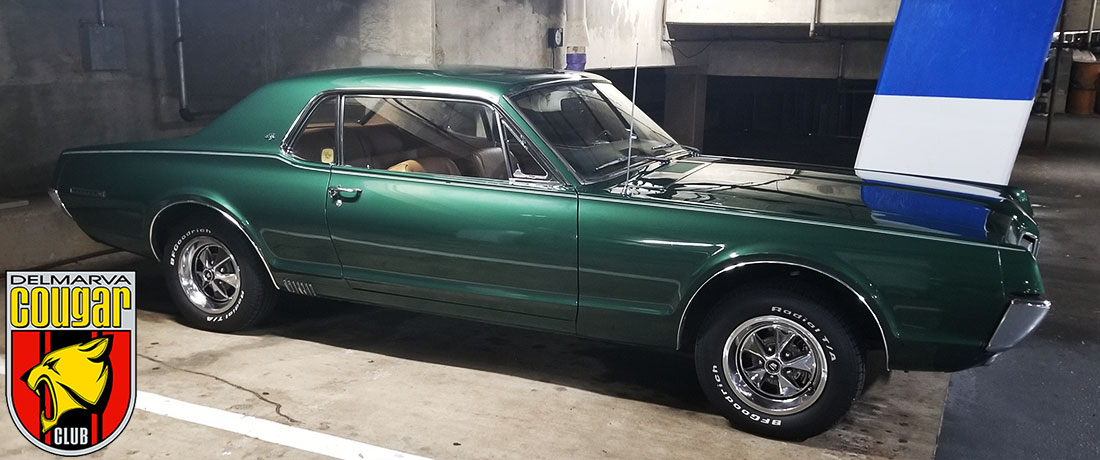 "#10206 John ""Wes"" Bullion 1967 Mercury Cougar Xr-7"