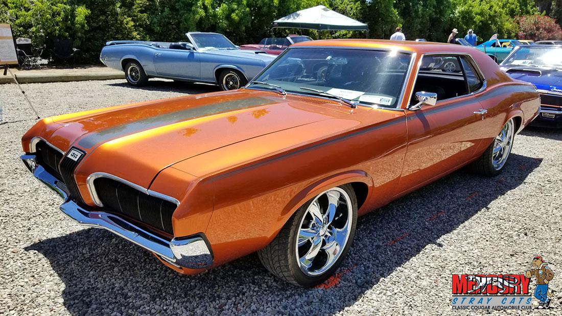 #10207 Rob Crowder 1970 Mercury Cougar Restomod
