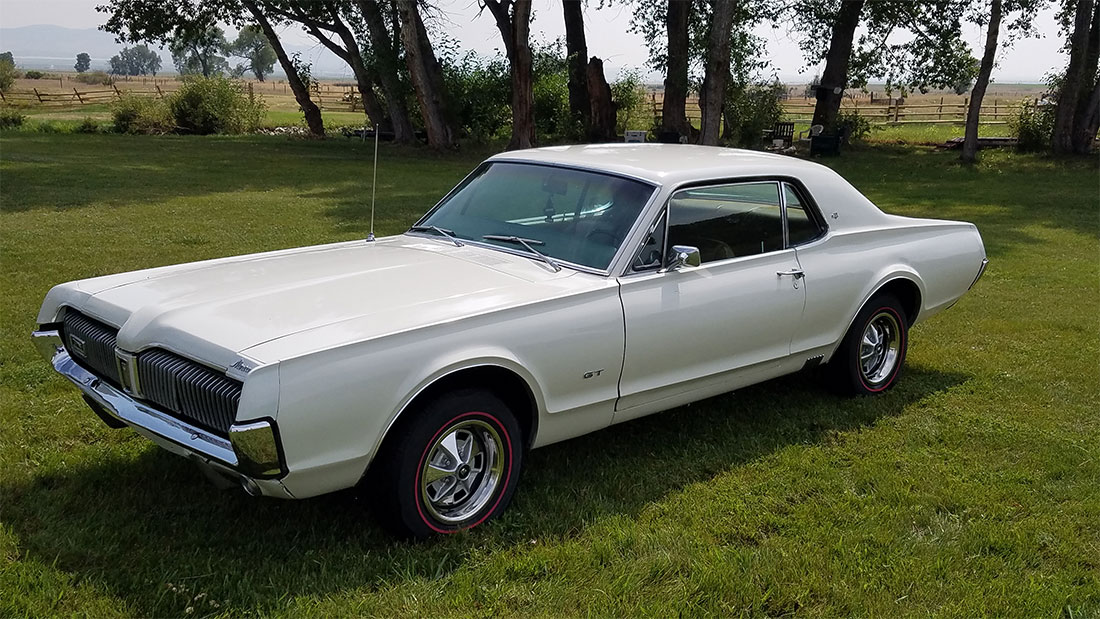 #10287 Cliff Kimpton 1967 Mercury Cougar GT