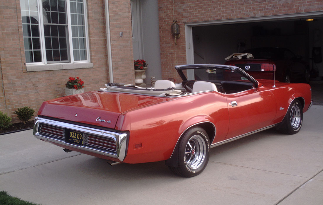 #1614 Phil Kos 1972 Mercury Cougar XR-7 Convertible