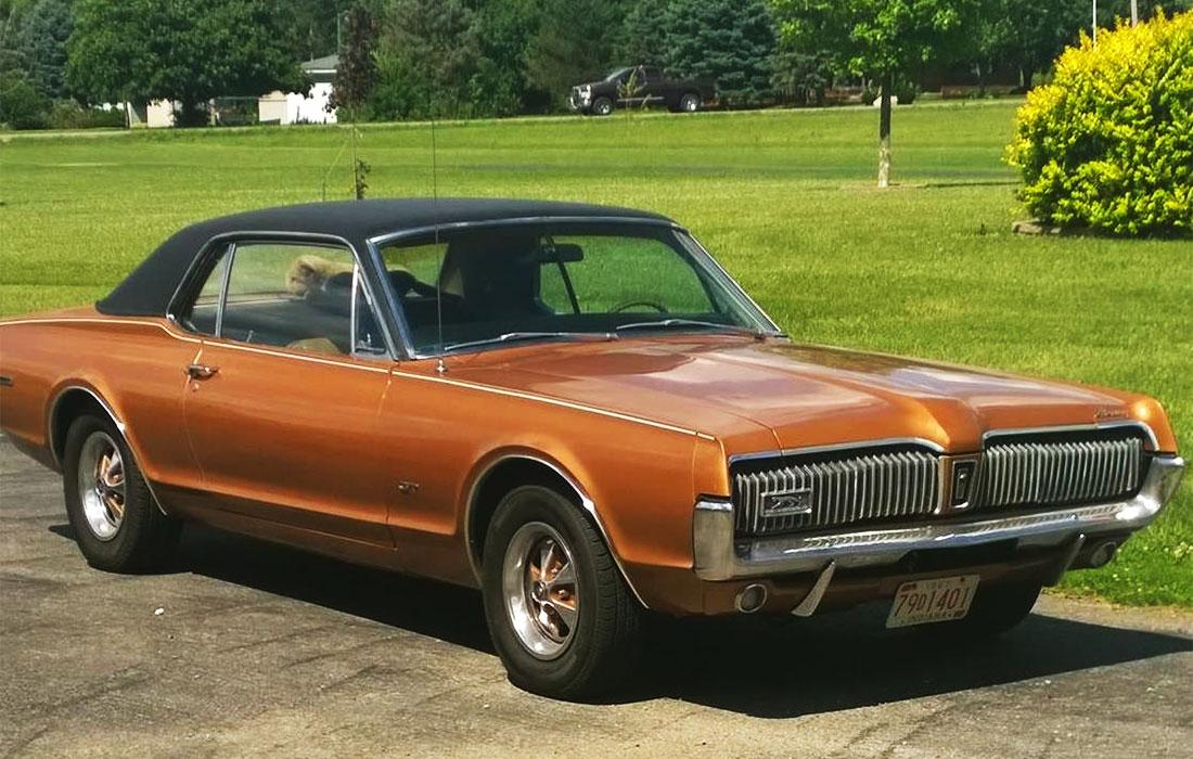 1967 Cinnamon Frost Poly Mercury Cougar GT